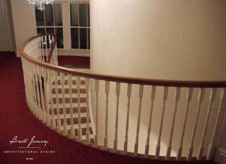 Mahogany staircase Ireland