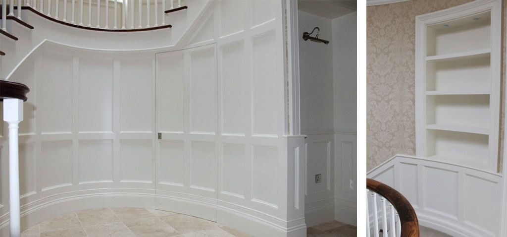 Curved panelling wainscoting ireland